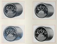 Продукция завода 1941-1945.Термометры масла ТМЭ-6, карбюратора ТКЭ-6, воздуха ТВЭ-6, цилиндра ТЦТ-9.