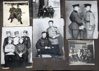 Фото. Чиж Р.В. с боевыми товарищами.1941-1945