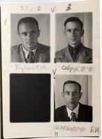 Фото.Королев. С.П., Севрук Д.Д., Шлезингер Б.И. 1940-е