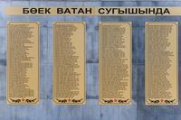 Список односельчан, погибших в годы Великой Отечественной войны 1941-1945 гг.