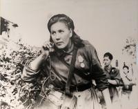 Фото.Проверка телефонной связи  1940-е