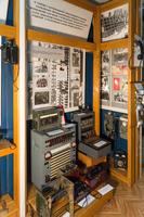 Фрагмент экспозиции музея посвящен телефонной связи в годы Великой Отечественной войны. 2014