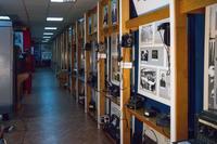 Фрагмент экспозиции Музея истории связи РТ посвящен развитию телефонной связи в предвоенные годы.