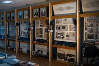 Фрагмент экспозиции музея о городской и междугородной телефонной связи в 1941-1945