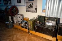 Фрагмент экспозиции музея посвящен радиосвязи в годы Великой Отечественной войны