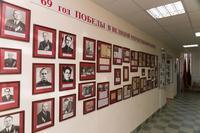Фрагмент экспозиции музея.  Связисты - участники Великой Отечественной войны. 2014