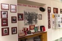 Фрагмент экспозиции музея посвящен связистам - участникам Великой Отечественной войны