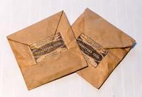 Пакеты . Глауберова соль. Казанский химфармзавод. 1940-е