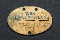 Медальон немецкого солдата. Германия. Начало 1940-х. Металл