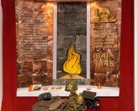 Экспозиция музея. Мемориал памяти   погибшим в годы войны заводчанам.  2014