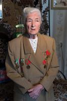 Фото. Мухтарова Г.А.-ветеран Великой Отечественной войны , ветеран труда. 2014