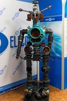 Робот в экспозиции музея истории ОАО