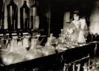 Фото. Спецлаборатория по изготовлению светосостава.1943