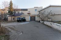 Здание на территории завода (переделано), в котором в 1942-1944 работали академики Хлопин В.Г. и Вавилов С.И. 2014