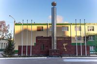 Мемориальная стела заводчанам- участникам Великой Отечественной войны. 2014