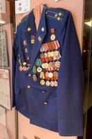 Форменное обмундирование Валиева А.Х. с боевыми правительственными и ведомственными наградами.1990-е