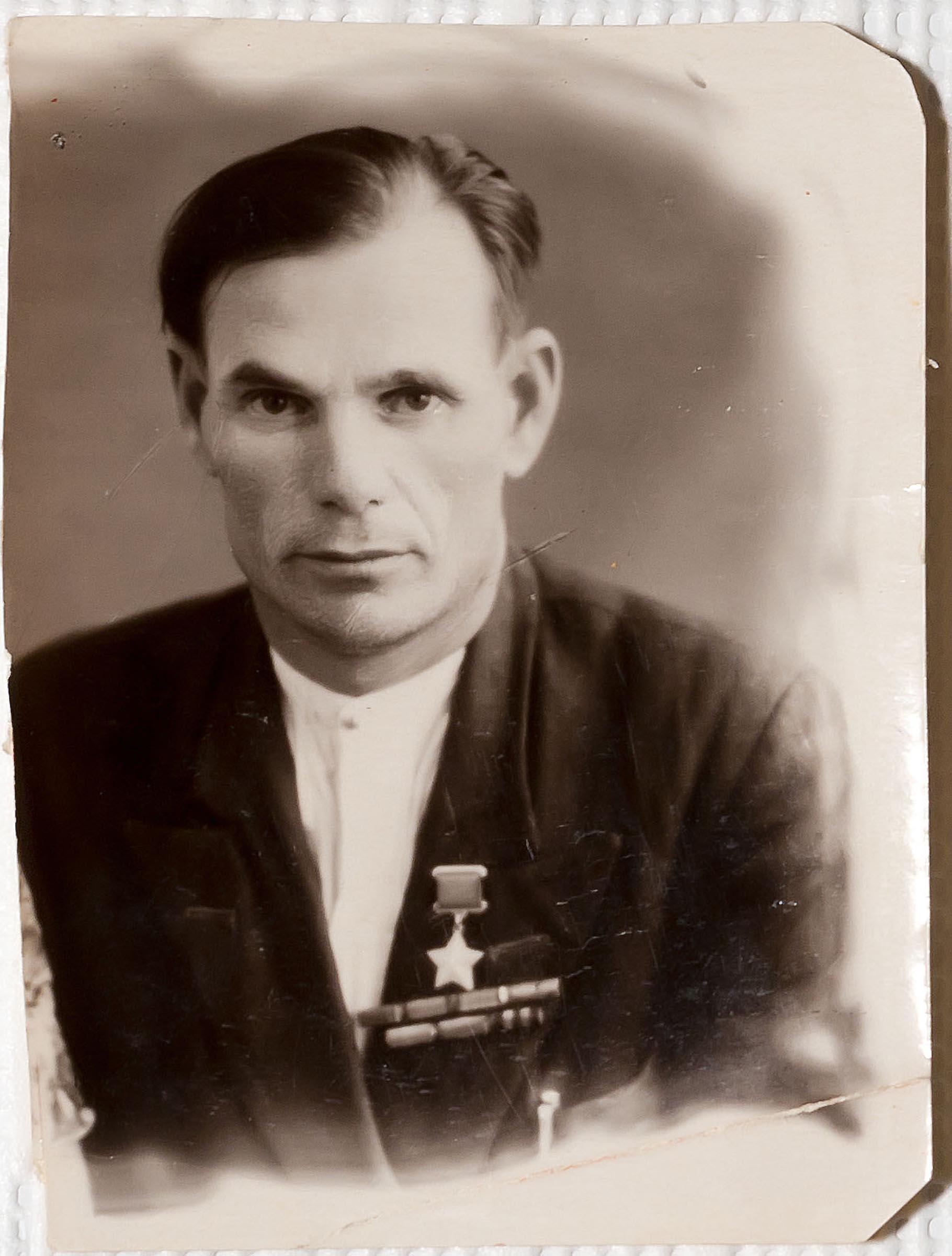 Фото Герой Советского Союза Камалеев Г.К. 1946::Музей национальной культуры в НКЦ Казань