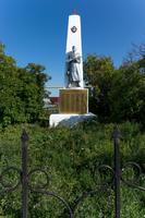 Памятник павшим воинам. Село Нижнее Береске. 2014