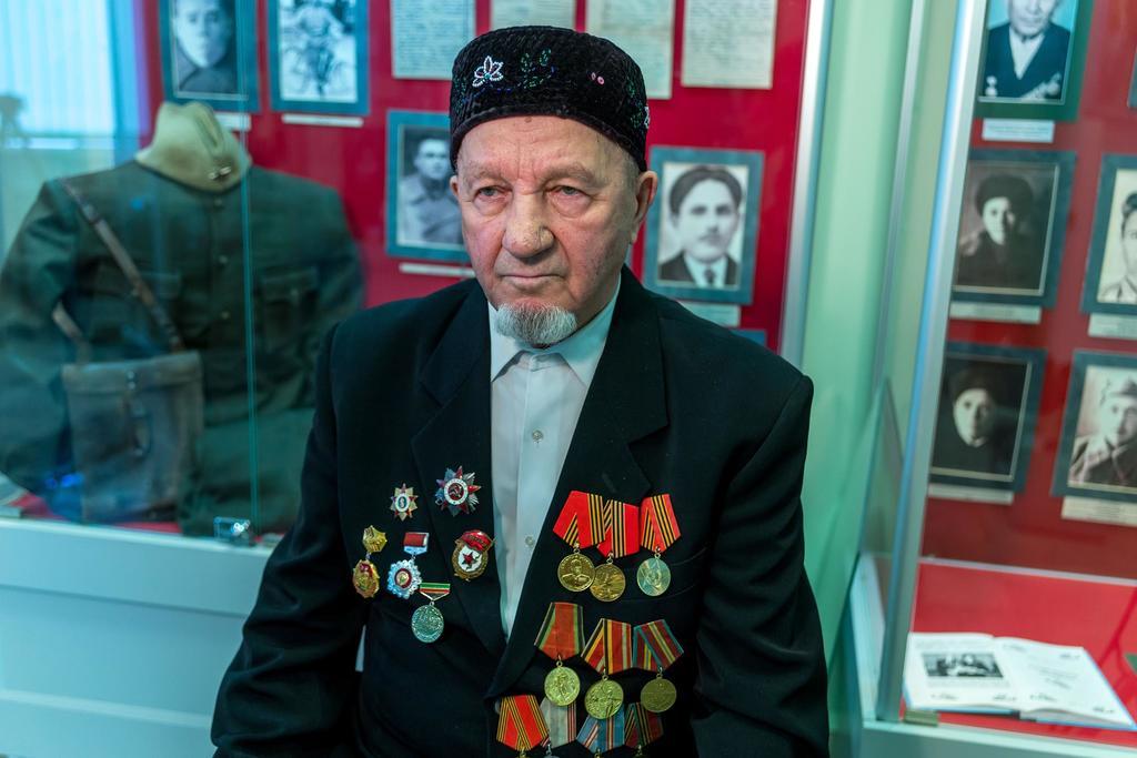 Фото №15856. Фото. Салахов Х.С. – участник Великой Отечественной войны. 2014