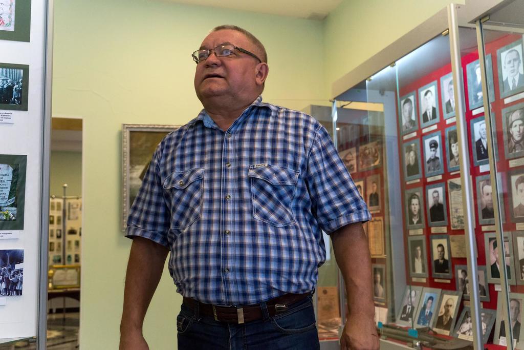 Фото №1033. Ногманов Рамис Гусманович - директор Апастовского краеведческого музея. 2014