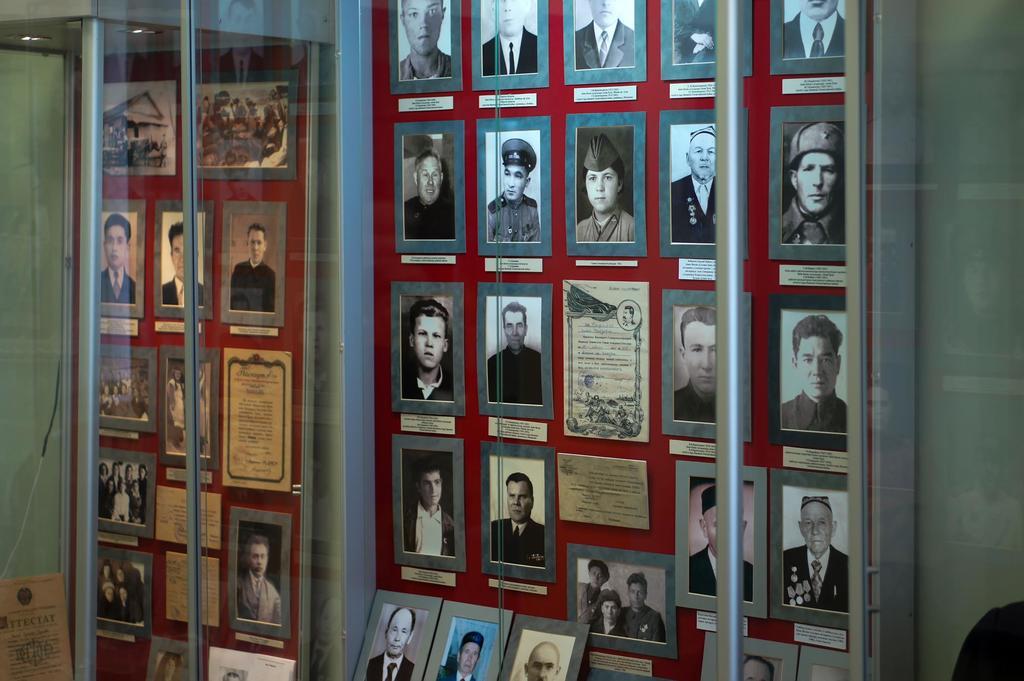 Фото №1041. Раздел экспозиции Апастовского краеведческого музея. 2014