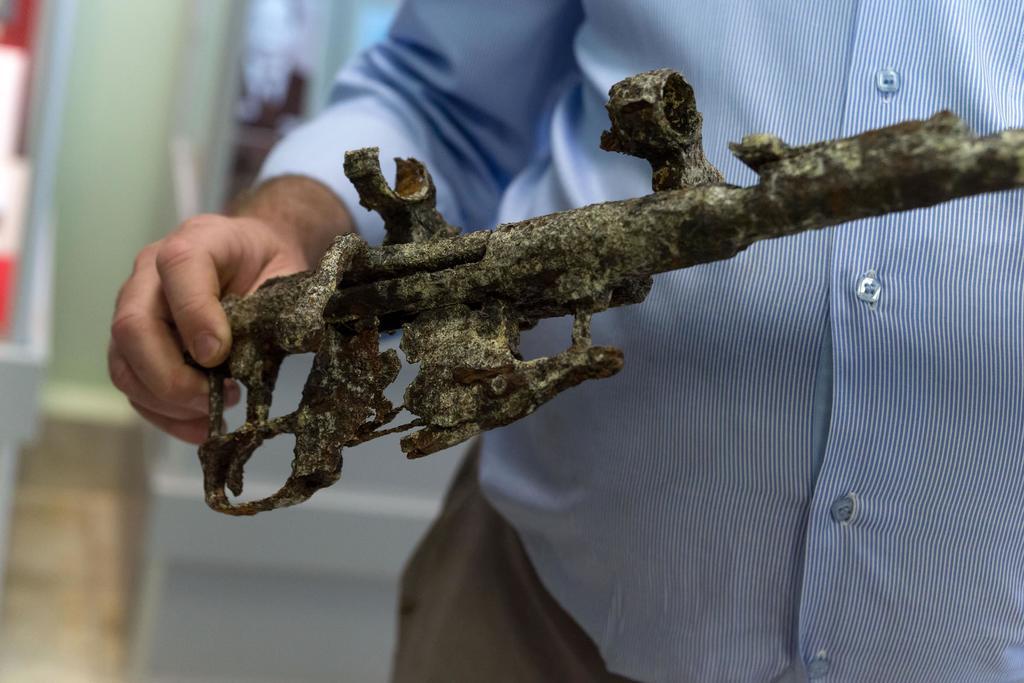 Фото №1097. Фрагмент ствола винтовки Мосина. СССР. 1930-е. Металл.