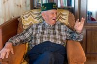 Фото. Галиев Ф.А. – ветеран Великой Отечественной войны. 2014