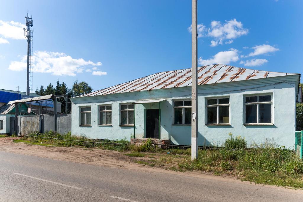 Здание крахмального завода. Лаишево. 2014   Завод основан в 1934 году, первая продукция произведена в 1937 году. ©Tatfrontu.ru Photo Archive