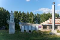 Памятник участникам Великой Отечественной войны. Село Кубян. 2014