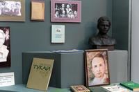 Фрагмент экспозиции в Литературном музее имени Сибгата Хакима. 2014
