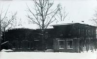 Фото. Школа, где учился Сибгат Хаким. Село Кулле-Кими.1960-е-1980-е