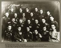 Фото. Татарские писатели – участники Великой Отечественной войны. 1940-е