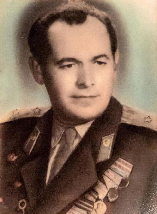 Фото №15926. Фото. Шишканов К.И.- участник Великой Отечественной войны.1950-е