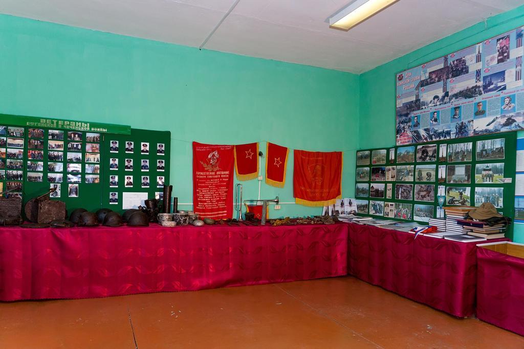 Раздел экспозиции музея поискового отряда «ОРКЕСТОР». 2014 ©Tatfrontu.ru Photo Archive