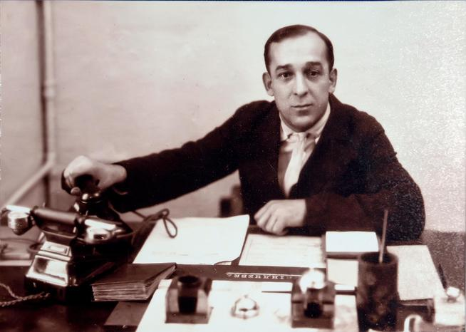 Фото №38078. Фото. Климов С.В. слесарь – инструментальщик. 1940-е