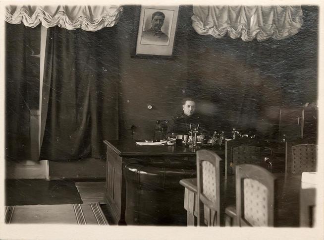 Фото. Окулов В.А.- директор завода № 22 (1942 - 1949). 1940-е::Музей трудовой славы КАЗ им. С.П. Горбунова