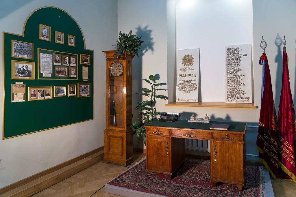 Фото №43428. Фрагмент экспозиции музея педагогического образования посвящен Великой Отечественной войне. 2014