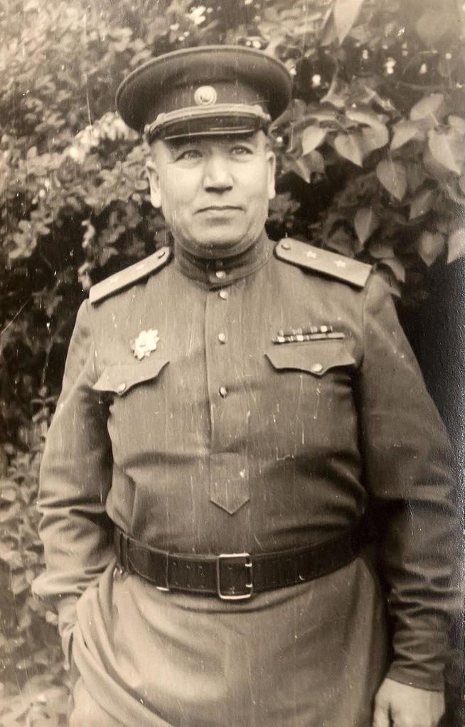 Фото №44131. Фото. Генерал-лейтенант Чанышев Я.Д. 1940-е