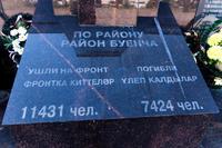 Аллея Славы. Стена Памяти. п. Высокая гора. 2014