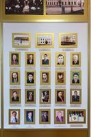Стенд Высокогорского краеведческого музея, посвященный первым секретарям и главам Высокогорского района. 2014