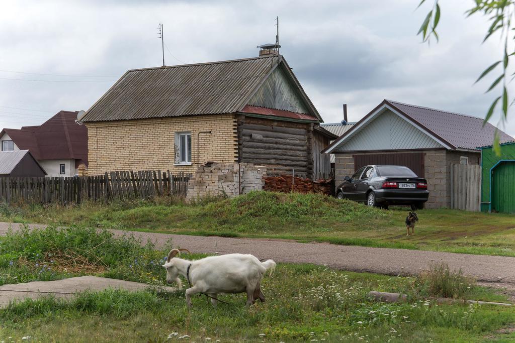 Фото. Вид кирпичного жилого дома. п.г.т.Алексеевское. 2014. удалить ©Tatfrontu.ru Photo Archive