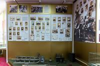 Фрагмент экспозиции Высокогорского краеведческого музея, посвященный быту района в годы Великой Отечественной войны. 2014