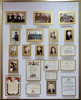 Стенд Высокогорского краеведческого музея, посвященный формированию воинских частей на территории Высокогорского района. 2014
