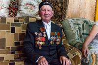 Фото. Муликов М.Х. - участник Великой Отечественной войны. 2014