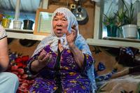 Фото. Бурханеутдинова З.Х. - труженица тыла, вдова участника Великой Отечественной войны. 2014