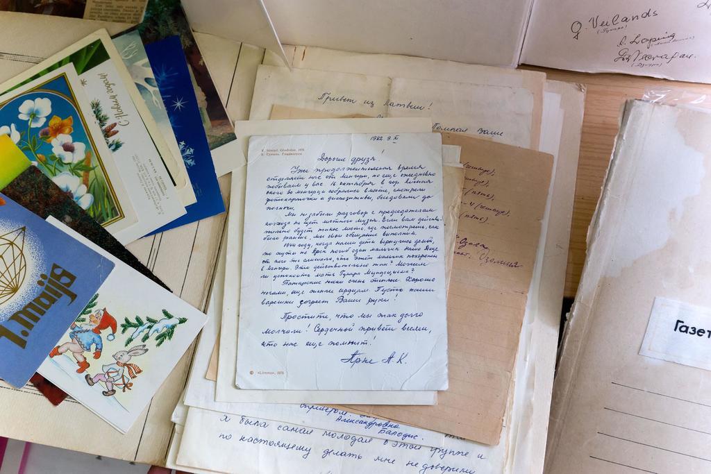 Открытое письмо. Письмо Арне А.К. жителям села Менгер. 9 ноября 1982 года  Арне А.К. в годы войны была эвакуирован в Большой Менгер из Латвии. ©Tatfrontu.ru Photo Archive