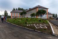 Здание Чепчуговской средней общеобразовательной школы Высокогорского муниципального района РТ. 2014