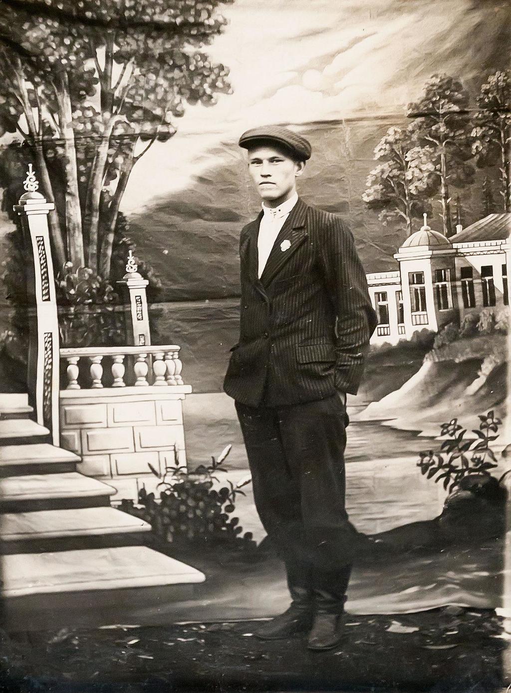 Фото. Садриев С.С. – Герой Советского Союза. 1930-е годы ©Tatfrontu.ru Photo Archive