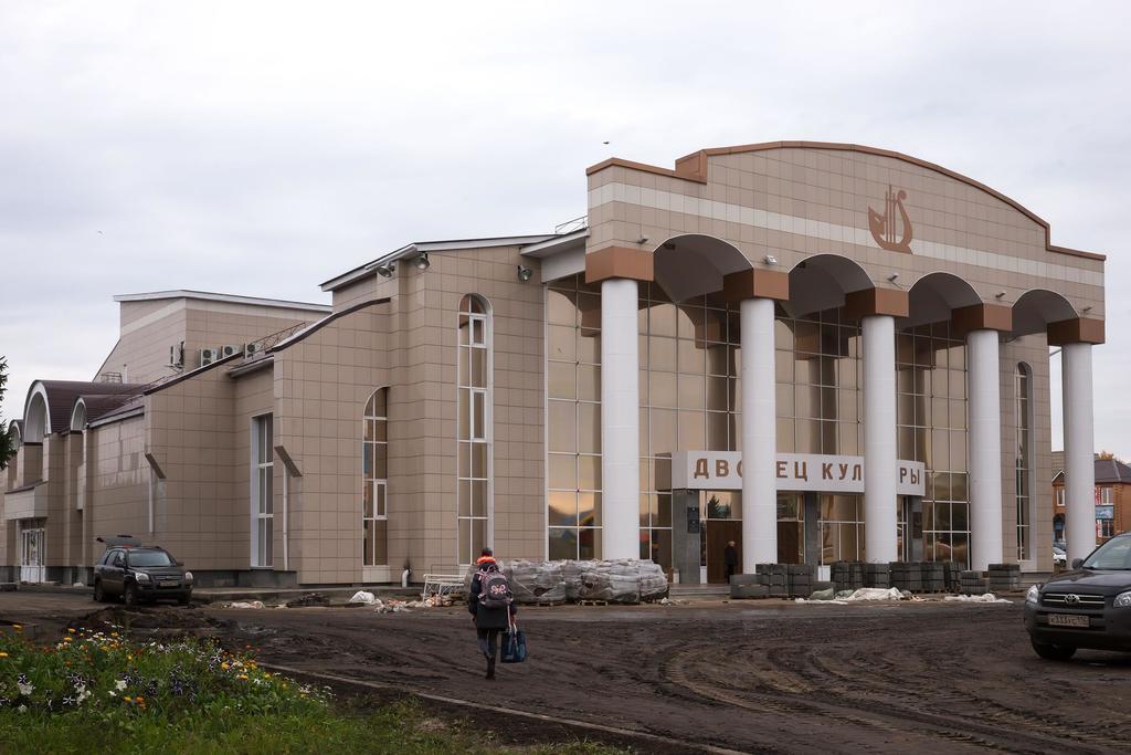 Здание Дворца культуры г.Нурлат. 2014 ©Tatfrontu.ru Photo Archive