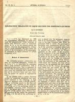 Оттиск статьи Статья Завойского Е.К.